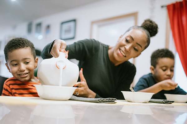 Growing Dairy Demand with Today's Millennial Parents